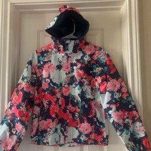 North Face Resolve Raincoat Sz 10-12 Girls